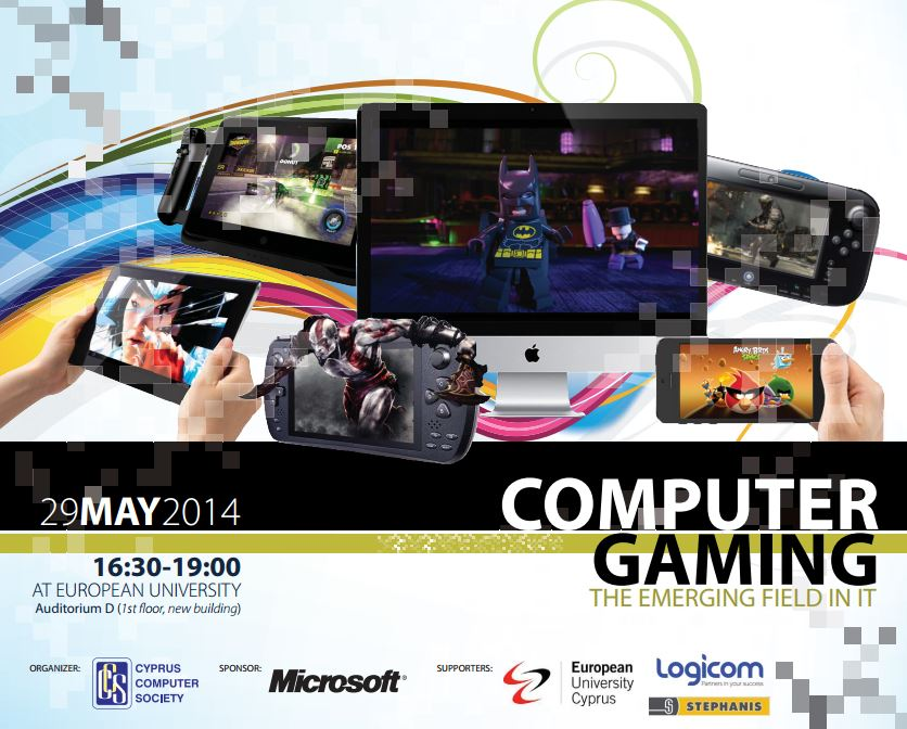 Talk: Computer Games… thinking outside the box!