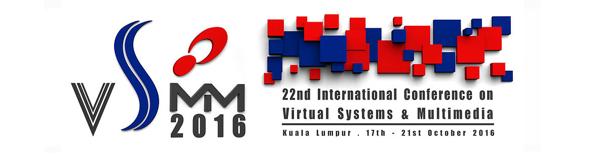 GET Lab publications @ VSMM 2016 & VRGCH'2016