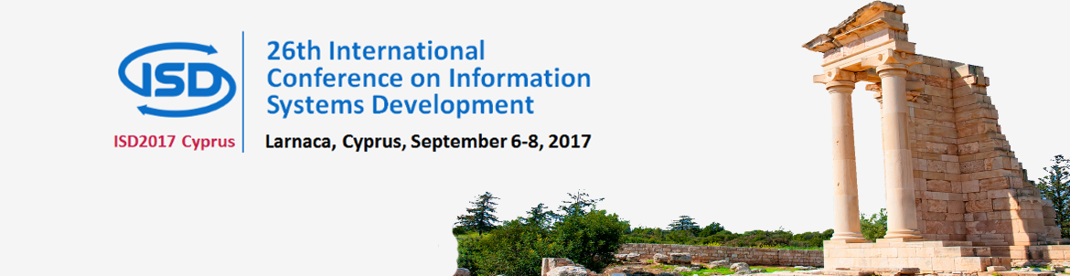 CFP for ISD2017